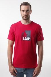 Červené tričko LOAP Alien