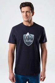 Modré tričko LOAP Alesh