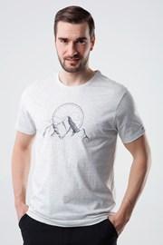 Šedé tričko LOAP Bogar