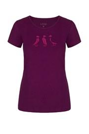 Dámské fialové tričko LOAP Adrin