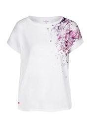 Dámské bílé tričko LOAP Alyssa