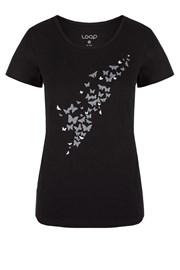 Dámske čierne tričko LOAP Adamia
