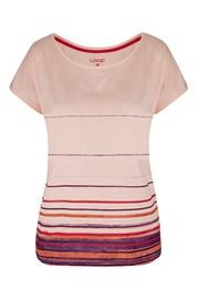 Dámské růžové tričko LOAP Alby
