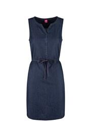 Dámské tmavě modré sportovní šaty LOAP Nermin