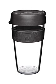 Kubek podróżny z tritanu Keepcup czarny 454 ml