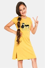 Dívčí noční košile Cats