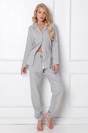 Dámské flanelové pyžamo Christy dlouhé