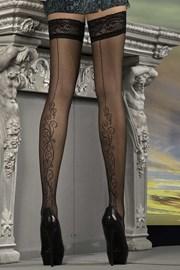Luxusní samodržící punčochy J.Collection 215