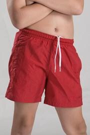 Chlapecké koupací šortky červené