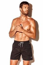 Moške kopalne kratke hlače Caicco plus size, črne
