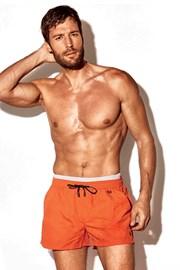 Atlantis sort szabású férfi dürdőnadrág narancssárga