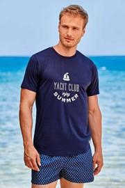 Tmavě modré tričko Yacht Club