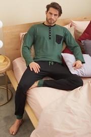 Zelené pyžamo Drew