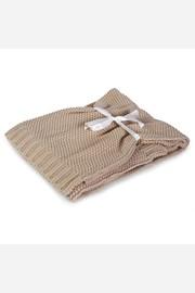 Pletená dětská deka Tully béžová
