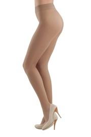3 PACK Business punčochových kalhot béžové