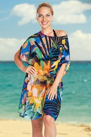 Dámské plážové šaty Jungle Flower