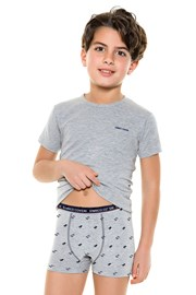 Komplet chlapeckých boxerek a trička