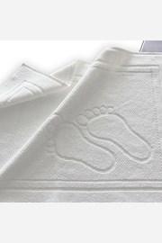 Koupelnová předložka Feet bílá