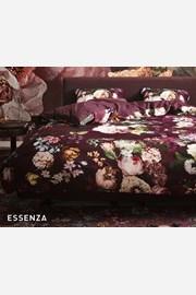 Povlečení Essenza Home Fleur Burgundy
