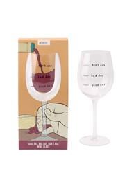 Sklenička na víno Dont ask
