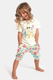 Dívčí pyžamo Hola lama