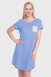 Dámská noční košile Ralph Lauren Blue Stripe
