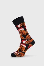 Χριστουγεννιάτικες κάλτσες Teddy