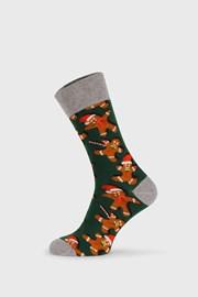 Χριστουγεννιάτικες κάλτσες Gingerbread