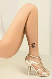 Punčochové kalhoty Jess s tetováním