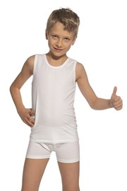 SET chlapeckého tílka a boxerek bílý