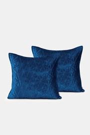 Sada 2 ks povlaků na polštářek Royal modrý