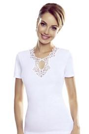 Dámské bílé tričko Leila