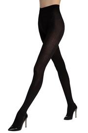 Vzorované punčochové kalhoty Loretta 120 50 DEN
