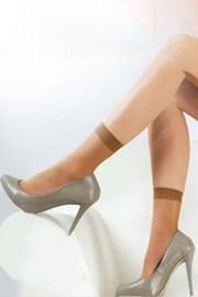 2 PACK punčochových ponožek 15 DEN