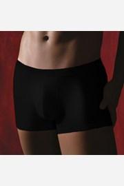 Pánské boxerky v černé barvě M002