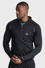 Μαύρη λειτουργική μπλούζα Whiten
