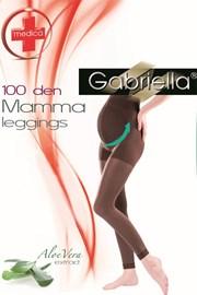Punčochové legíny Mama 173 - 100 DEN