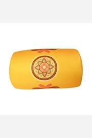 Polštářek Mandala žlutý