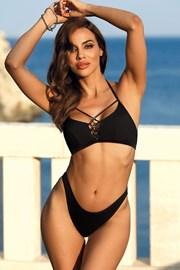 Horní díl dámských plavek Marbella black