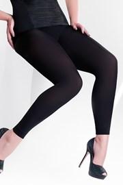 Microfibra legging, plus size 163 - 100 DEN