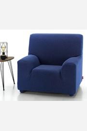 Pokrowiec na fotel Milos niebieski