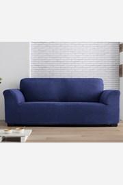 Pokrowiec na dwuosobową sofę Milos niebieski
