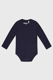 Chlapecké kojenecké bodýčko s dlouhým rukávem Baby modré