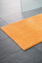 Koupelnová předložka Agra oranžová