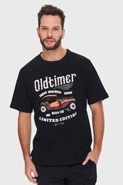 Černé pyžamo Oldtimer