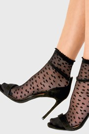 Dámské punčochové ponožky Heart