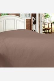 Luksusowa narzuta na łóżko Bamboo brązowa