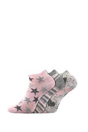 3 PACK dámských ponožek Piki 46 nízké
