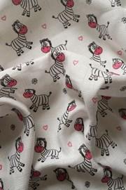 Dětská plena Zebra růžová
