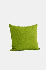 Dekorační polštář s výplní zelený
